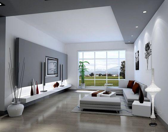 Moderná obývačka plná kreativity