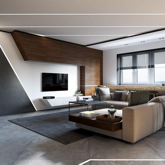 Moderné obývačky súčasnosti